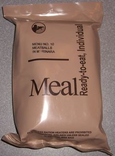 MRE Meals Menu The Best MRE Food Storage You can Buy!