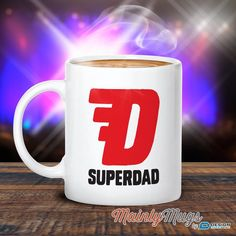 Super Dad, Dad Gift, Dad Mug, Birthday Gift For Dad! Dad Present, Dad Birthday Gift, Gift For Dad! Present For Dad, Awesome Dad, Love Dad
