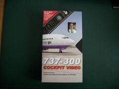 152) VHS : 737 - 300 Cockpit Video in englischer Sprache, Preis 5€