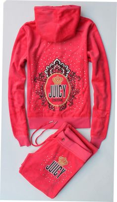 <3 juicy couture tracksuite i want it is soooooooooooooooooo......................peng<3