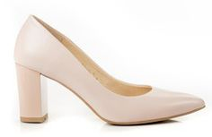 Buty NEŚCIOR Puder Skóra Słupek wz.042 Heels, Fashion, Heel, Moda, Fashion Styles, High Heel, Fashion Illustrations, Stiletto Heels, High Heels