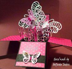 VIDA Scrapbook Challenges: Reto #5: Mariposas, Brillo y Perlas