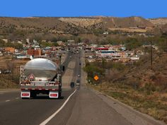 ~View of Bloomfield, NM driving in from Albuquerque~ Look at that beautiful NM blue sky!