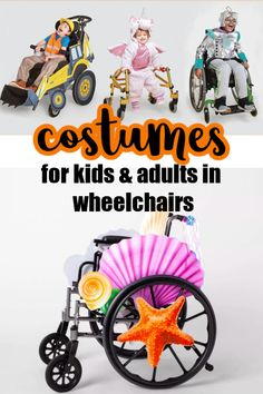 The very best Halloween costumes for kids and adults in wheelchairs.