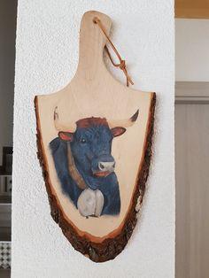 """""""La petite nouvelle"""" Portrait of Hérens cow with pastel pencils on plank … Crayons Pastel, Pastel Pencils, Crayon Storage, Wallpaper Pictures, Portrait, More Fun, Cow, Beautiful Pictures, Creations"""