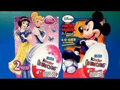 Kinder Mickey Mouse Surprise Eggs Disney Princess Snow White & Cinderella Huevos Sorpresa - http://www.disneytoysreviews.com/kinder-surprise-eggs/kinder-mickey-mouse-surprise-eggs-disney-princess-snow-white-cinderella-huevos-sorpresa/