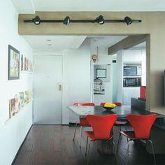 Atmosfera de loft: apartamento de 60 m² tem espaço para tudo - Casa