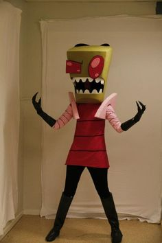 Invader Zim - Epic Cosplay, I'd dress up as Gir