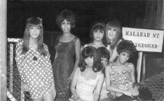 Bugis Street transgender folks from back in its heyday. Singapore Photos, Singapore Fashion, Old Pictures, Old Photos, Bruce Lee Movies, Royal Australian Navy, Photographs And Memories, Crossdressers, Childhood Memories