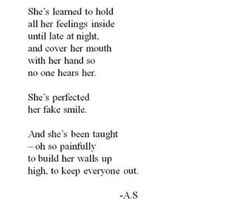 So very true my walls are very tall no one will ever know the hurt I keep ever inside behind my wall
