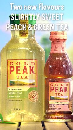 With 2 NEW Gold Peak flavours, there's a home-brewed taste for everyone to enjoy