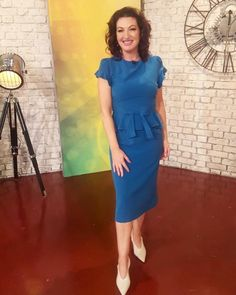 @RTEtoday host @mauraderrane looked effortlessly glamorous on this afternoon's show wearing our @stopstaring.ie Willow Dress Peplum Dress, Bodycon Dress, Glamour, How To Wear, Instagram, Dresses, Fashion, Fashion Styles, Vestidos