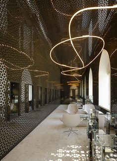Belfry Tashkent Jewellery Store, Tashkent, Uzbekistan :: Ippolito Fleitz Group Architects