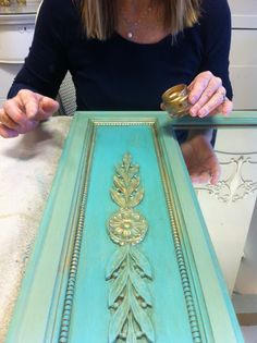 Maison Decor: Turquoise and Gold Inspiration!