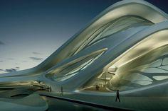 A arquitetura não linear de Zaha Hadid » Brainstorm9