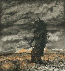 """""""Buffalo Dancer"""" by Alma David Waite"""