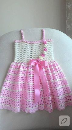 see what ira grynda iragryndaIrish lace, crochet, crochet patterns, clothing and decorations for the house, crocheted.White crochet baby dress set wThis Pin was discovered by DolDiscover thousands of images about A Collection of Crochet Girls Crochet Baby Dress Pattern, Baby Dress Patterns, Baby Knitting Patterns, Baby Blanket Crochet, Knit Crochet, Crochet Patterns, Crochet Design, Crochet Toddler, Baby Girl Crochet