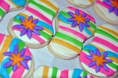 ... flops on? Well these cookies are sure to put you in the beach mood