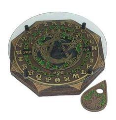 Cat-pentagram Ouija Board