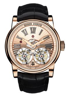 The Roger Dubuis - Homage Double Flying Tourbillon