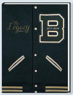 Birdville High School Yearbook Cover 17-18
