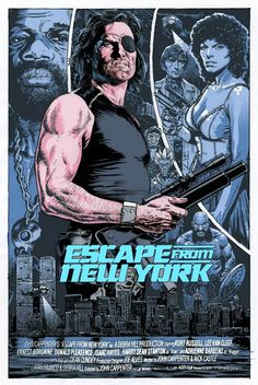 Escape From New York - movie poster - Chris Weston