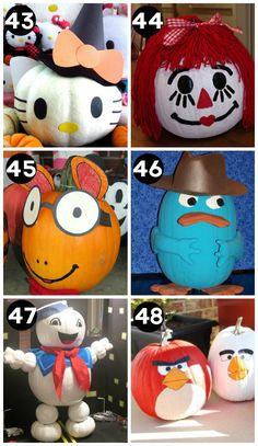Best Decorated Pumpkins EVER