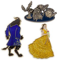 Beauty and the Beast Limited Edition Pin Set - Live Action Film