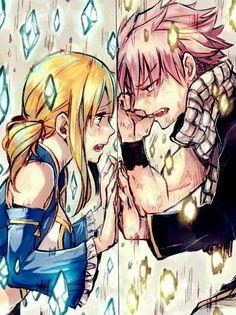 Fairy Tail's Natsu and Lucy a la Tsubasa Reservoir Chronicle #anime #manga