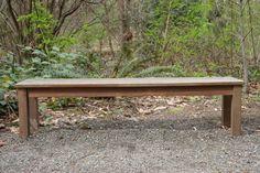 Comment construire un banc en bois ?