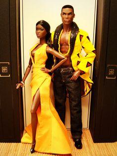 Couple in yellow (by Deejay Bafaroy)