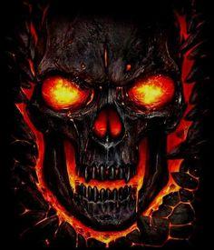 Ghost Rider Wallpaper, Skull Wallpaper, Airbrush Designs, Airbrush Art, Skull Tattoo Design, Skull Tattoos, Tattoo Designs, Skull Stencil, Ghost Rider