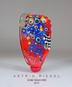 Astrid Riedel Glass Artist: Abstract fun