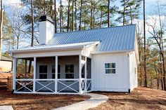 Compact and Versatile 1- to 2-Bedroom House Plan - 24391TW | Architectural Designs - House Plans Small Cottage House Plans, 2 Bedroom House Plans, Country Style House Plans, Small House Plans, Guest Cottage Plans, Cottage Ideas, Cabin Homes, Cottage Homes, Log Homes