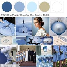The Perfect Palette: A Sweet Soiree: {Powder Blue, Gray + White}  http://www.theperfectpalette.com/p/color-palettes_17.html
