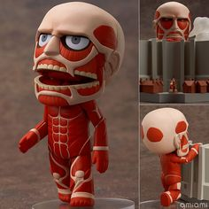 AmiAmi [Character & Hobby Shop]   Nendoroid - Colossal Titan & Attack on Titan Playset(Preorder)