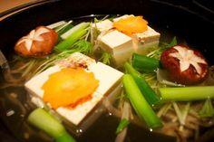 Tofu dish at Hakkakuan, osaka