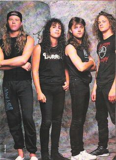Metallica, old times...