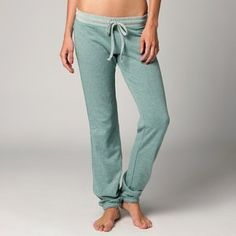 """FOX RACING WORTHY WOMENS PANTS ICE XL by Fox Casuals. $34.71. 60/40% Cotton Poly two color french terry, 200 grams, with reverse self at waist band, and 'ride on' embroidery and raw edge details at side seams. Loose satin stitch Fox Head embroidery at back 32"""" Inseam. Save 12% Off!"""