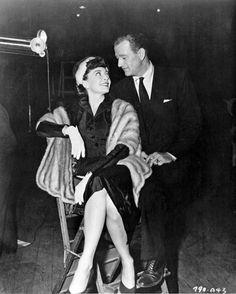 JOHN WAYNE Trouble along the way 8x10 rare CANDID 1953 the Duke with wife Chata