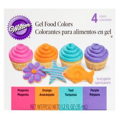 Wilton Gel Food Colors 4 ct