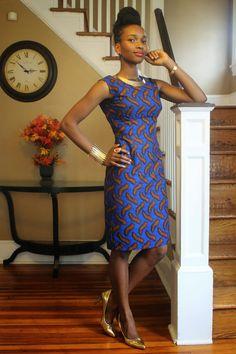 My Style Oasis: FRUITS AND FASHION - Blue Peaches Sheath Dress. #Africanfashion #AfricanWeddings #Africanprints #Ethnicprints #Africanwomen #africanTradition #AfricanArt #AfricanStyle #Kitenge #AfricanBeads #Gele #Kente #Ankara #Nigerianfashion #Ghanaianfashion #Kenyanfashion #Burundifashion #senegalesefashion #Swahilifashion ~DK