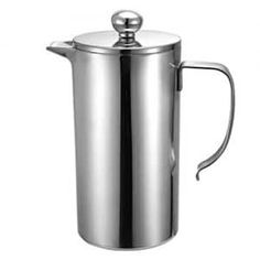 Foho French Coffee Press Maker Double Wall Stainless Steel French Coffee Press Quality Anti Rust Stainless Steel >>> For more information, visit image link. Dual Coffee Maker, Coffee Maker Reviews, French Press Coffee Maker, French Coffee, Stainless Steel French Press, Coffee Brewer, Brewing Tea, Great Coffee, Rust