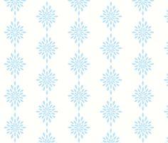 Star Burst  in Sea Blue fabric by drapestudio on Spoonflower - custom fabric