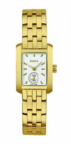 Doxa New Style Women / 243.35.011.11  Doxa, founded in 1889 by George Ducommun, began as a maker of fine dress watches and other timepieces. Over the years, Doxa gained in size and branched out into other timekeeping markets. (Wristwatches, Armbanduhren, Montres-bracelets; Brunner, Gisbert L; Pfeiffer-Belli, Christian; Koneman, 2006)  www.q1-watches.com