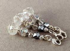 Crystal Keychain Small KeychainCrystal Wedding by LucKeyMe on Etsy