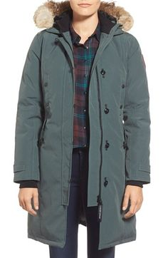 Canada Goose coats replica discounts - CANADA GOOSE Whistler Fur-Trim Hooded Parka Coat, Black ...