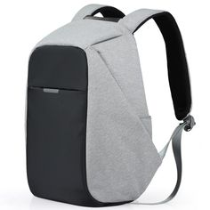 c691fa330 Anti-theft Travel Backpack Business Laptop Book School Bag with USB Charger  Port  fashion
