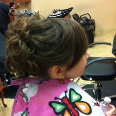 Little girl updo:)