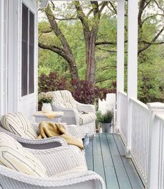 Grab a drink and a book and make your outdoor space your favorite escape with these decorating ideas.